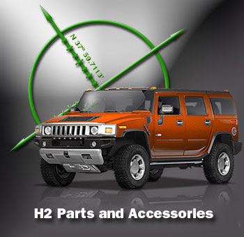 Hummer H2 Accessories.