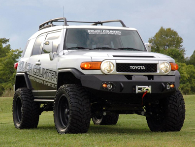 FJ Cruiser with Fab Fours Bumper