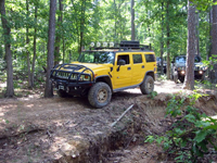 Off-Road H2 at Sayersbrook Bison Ranch, Potosi, MO.