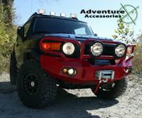 Adventure Accessories Toyota FJ Cruiser Project, 2008