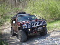 Off-Road H2 at Lynch Hummer, St. Louis, MO.