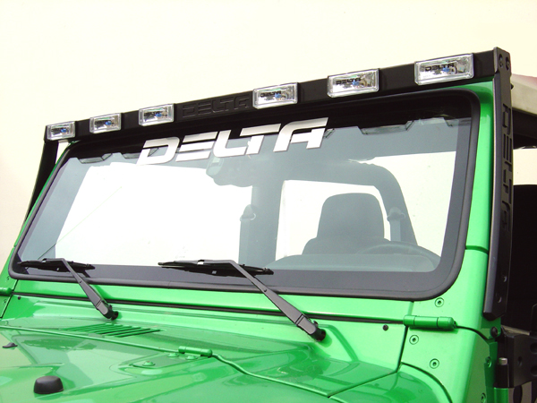 Jeep Wrangler with Delta Tech Light Bar